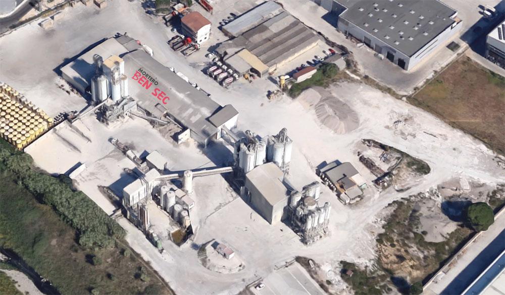 Imatge de la fàbrica de Bensec